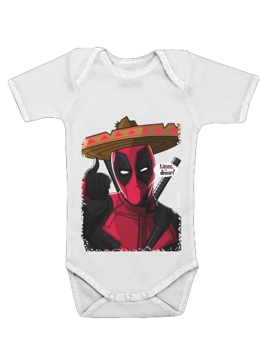 body bébé Mexican Deadpool