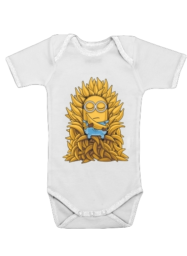 body bébé Minion Throne