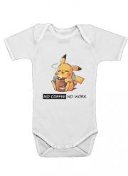 body bébé Pikachu Coffee Addict