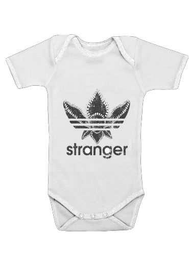 body bébé Stranger Things Demogorgon Monstre Parodie Adidas Logo Serie TV