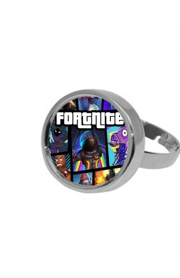 Bague Fortnite - Battle Royale Art Feat GTA