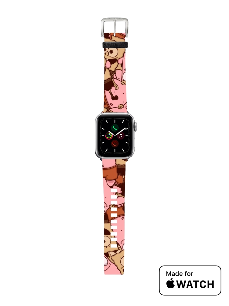 apple watch Chocolate Bob and Patrick