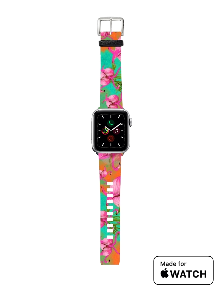 apple watch Flamingos