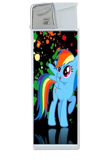 Briquet personnalisable My little pony Rainbow Dash