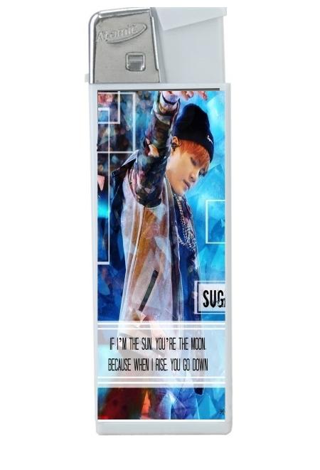 Briquet personnalisable Suga BTS Kpop