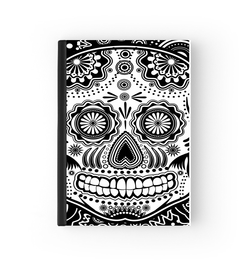 protection passeport black and white sugar skull 2020 / 2021