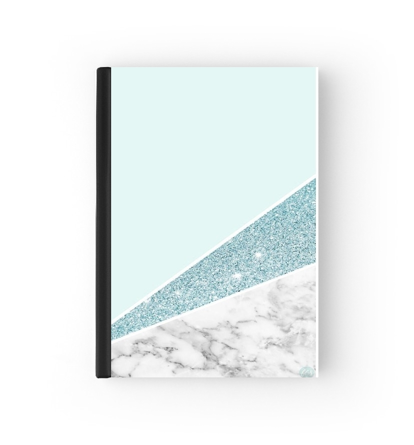 agenda Initiale Marble and Glitter Blue 2019 / 2020
