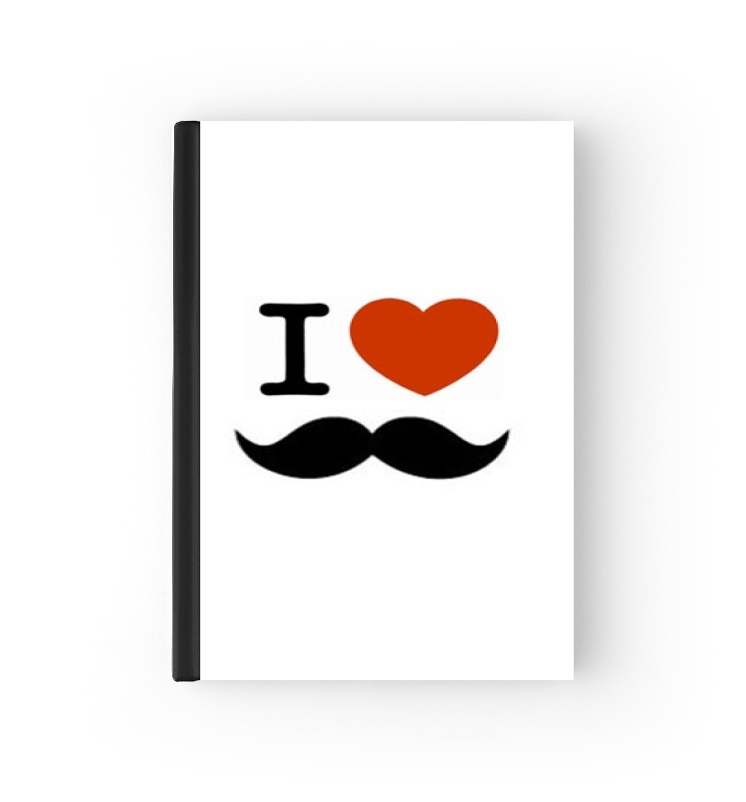 protection passeport I Love Moustache 2020 / 2021