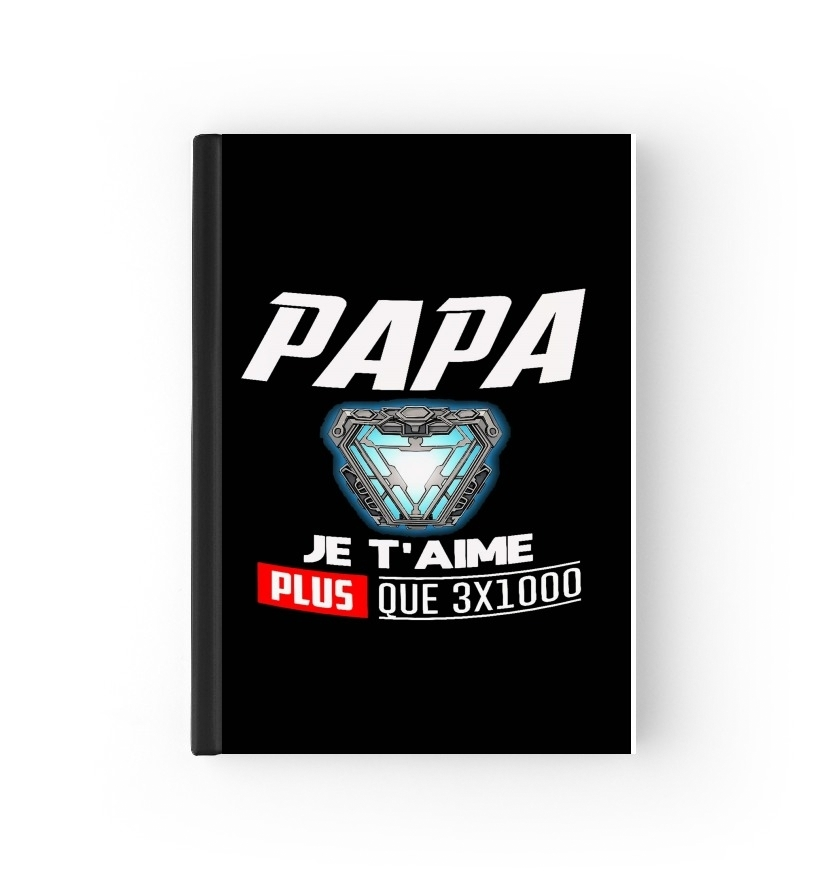 protection passeport Papa je t'aime plus que 3x1000 2020 / 2021