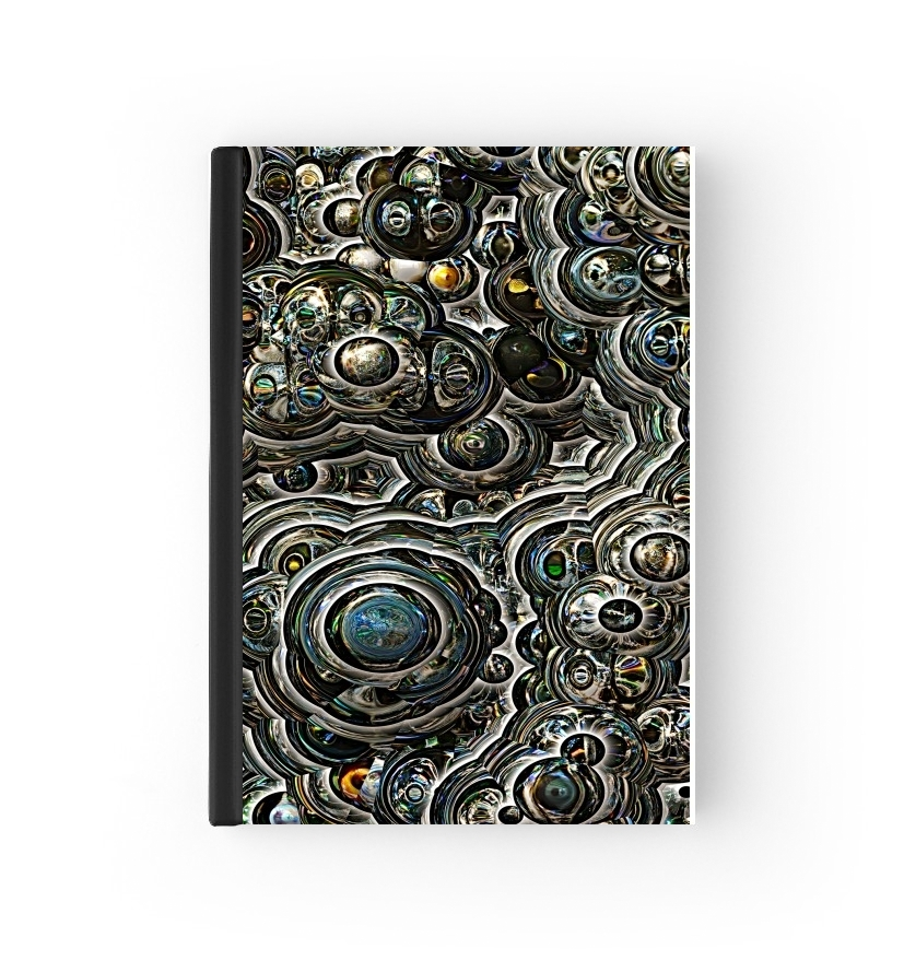 agenda Silver glitter bubble cells 2020 / 2021