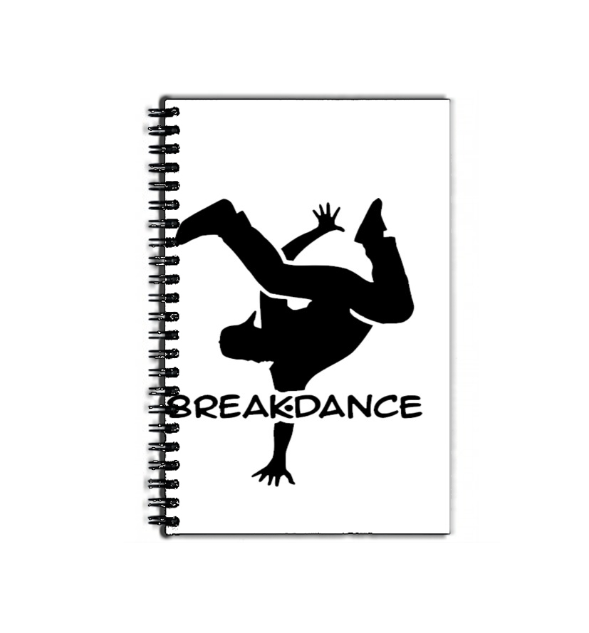 cahier de texte Break Dance