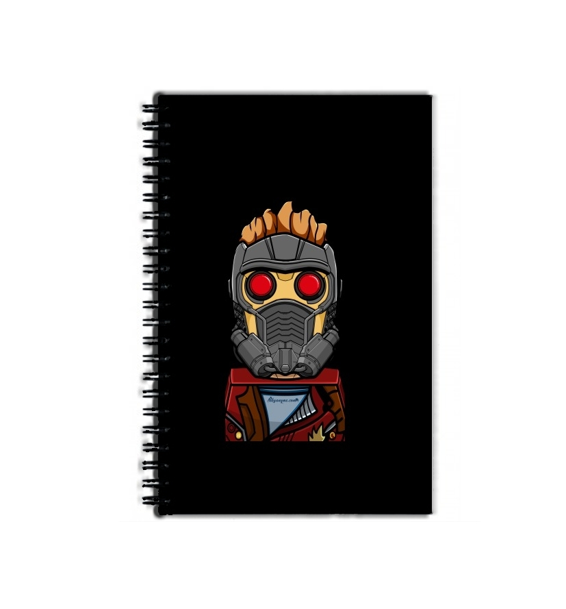 Cahier Bricks Star Lord