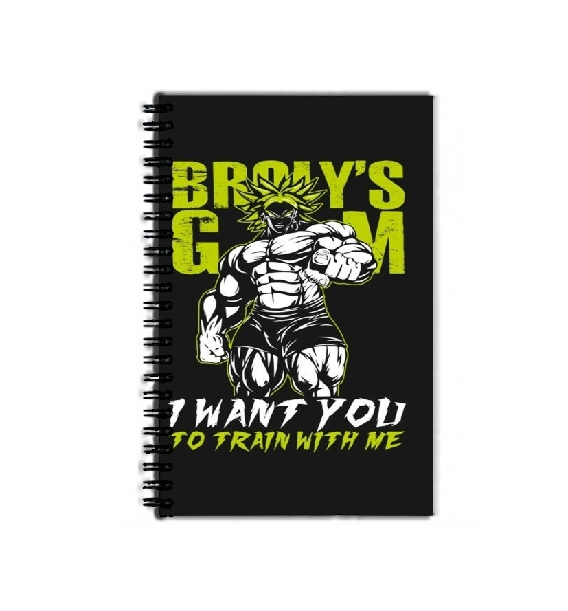 cahier de texte Broly Training Gym