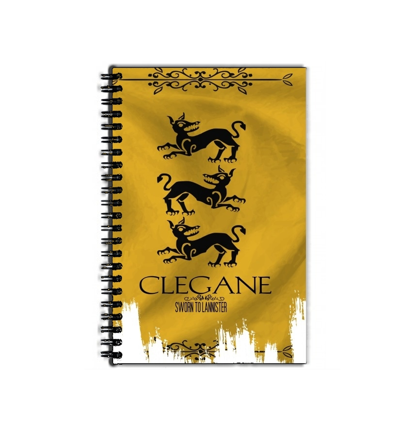 Cahier Flag House Clegane