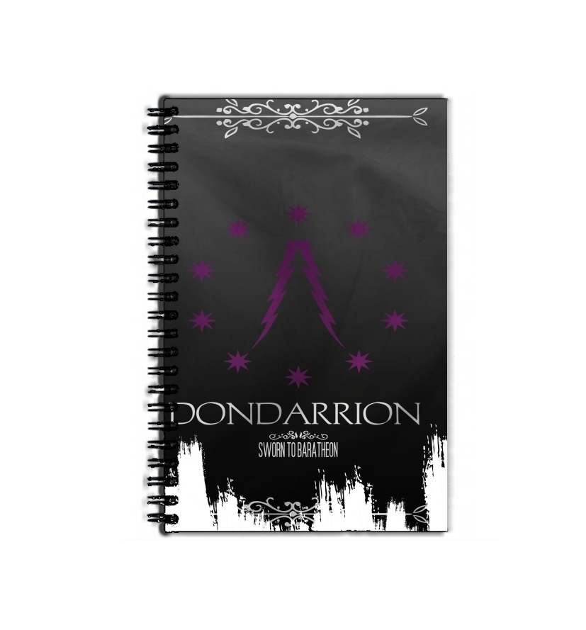 cahier de texte Flag House Dondarrion