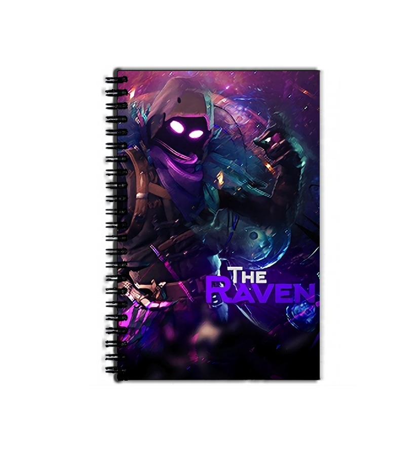cahier de texte Fortnite The Raven
