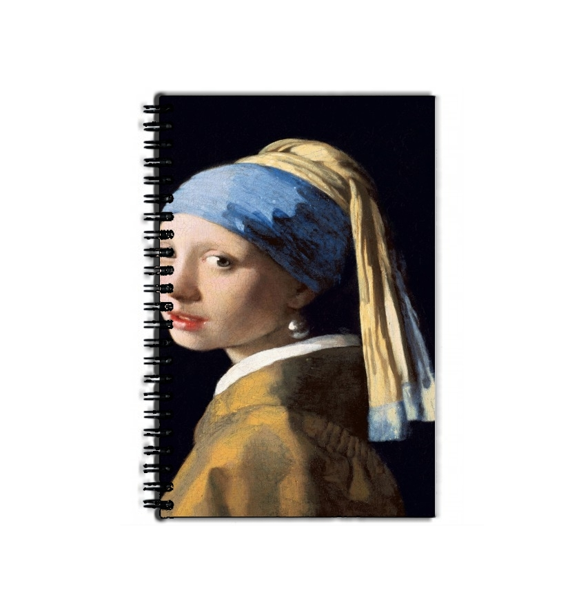 cahier de texte Girl with a Pearl Earring