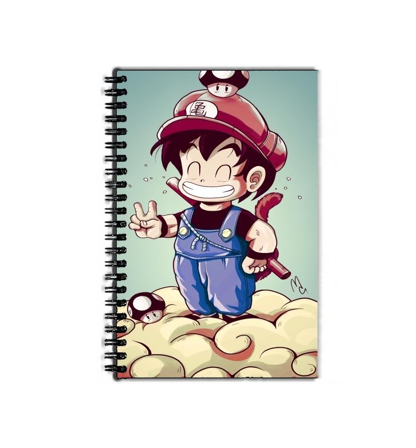 Cahier De Texte école Goku Mario Bleu