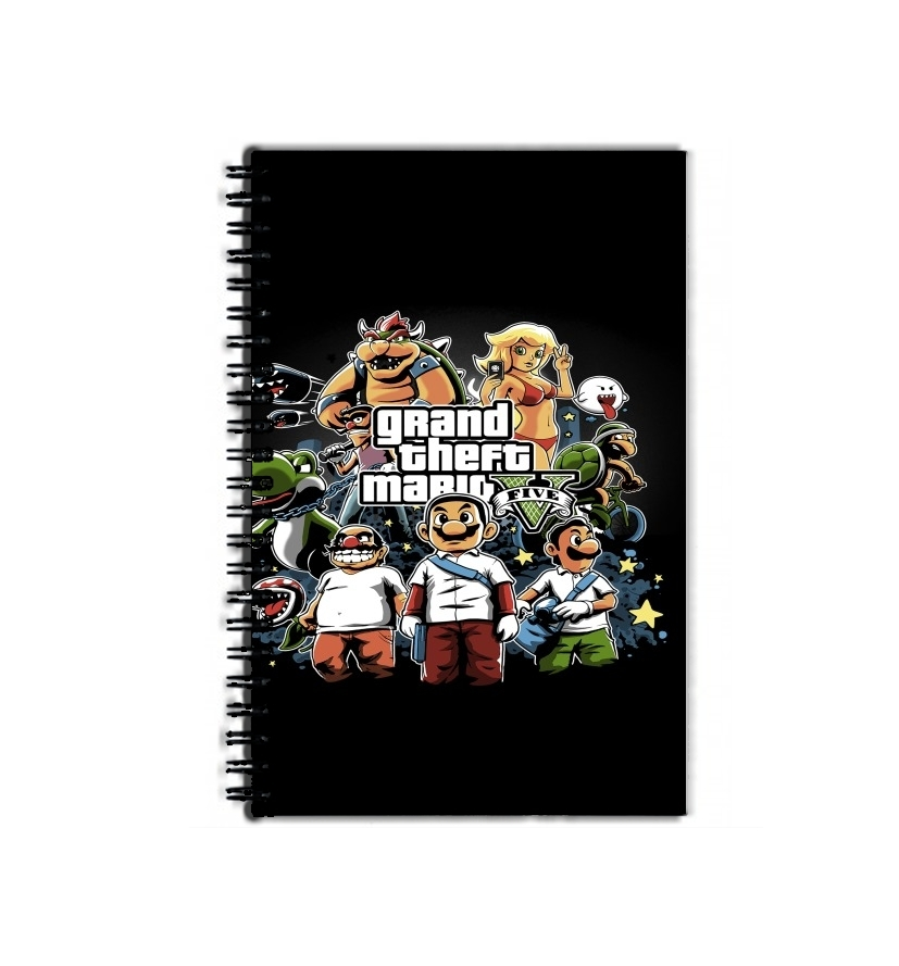 Cahier De Texte école Grand Theft Mario