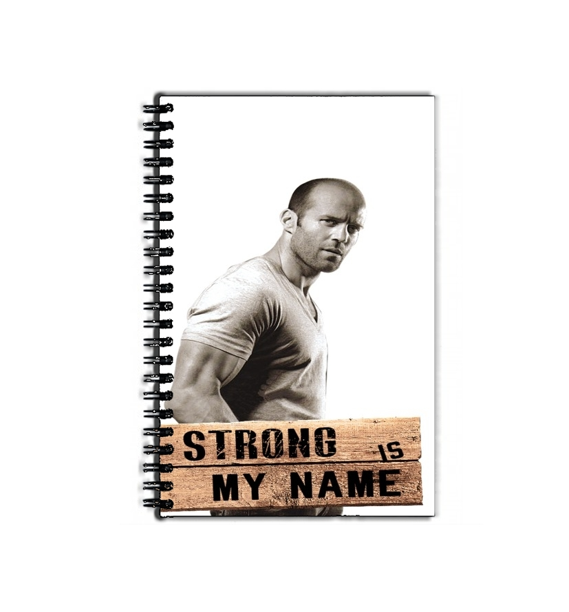 cahier de texte Jason statham Strong is my name