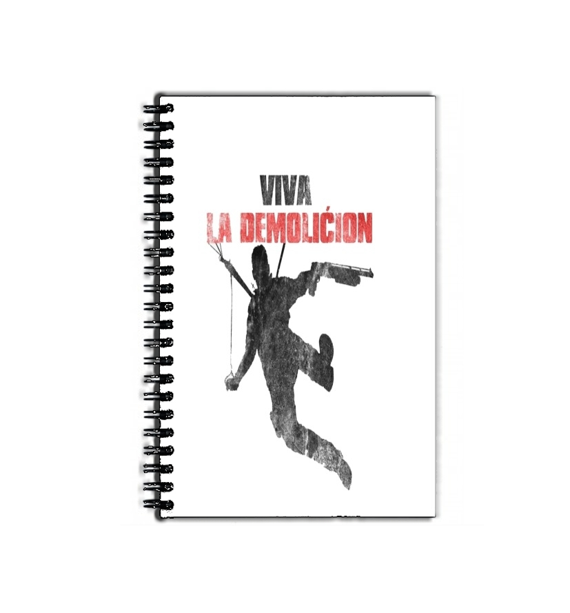 cahier de texte Just Cause Viva La Demolition