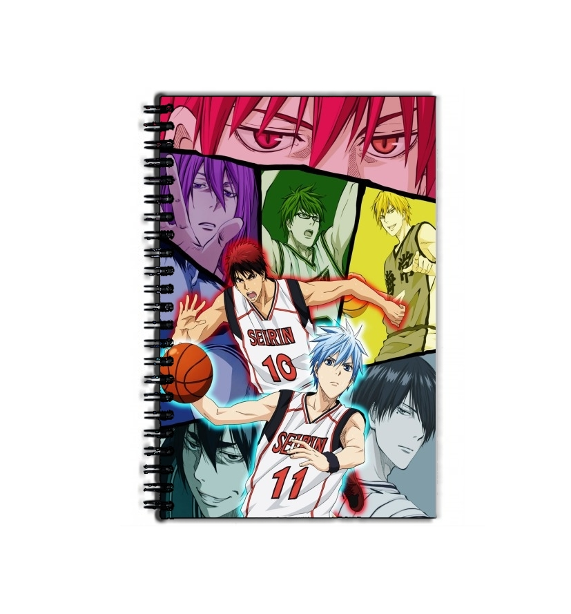 cahier de texte Kuroko no basket Generation of miracles
