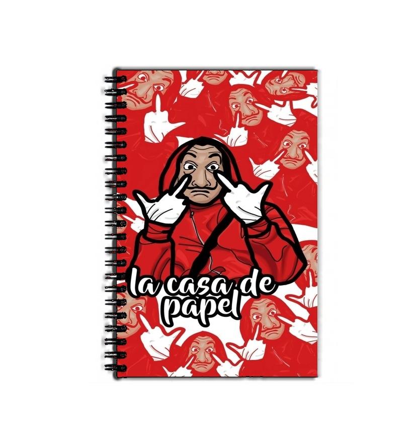 Cahier De Texte La Casa De Papel Clipart