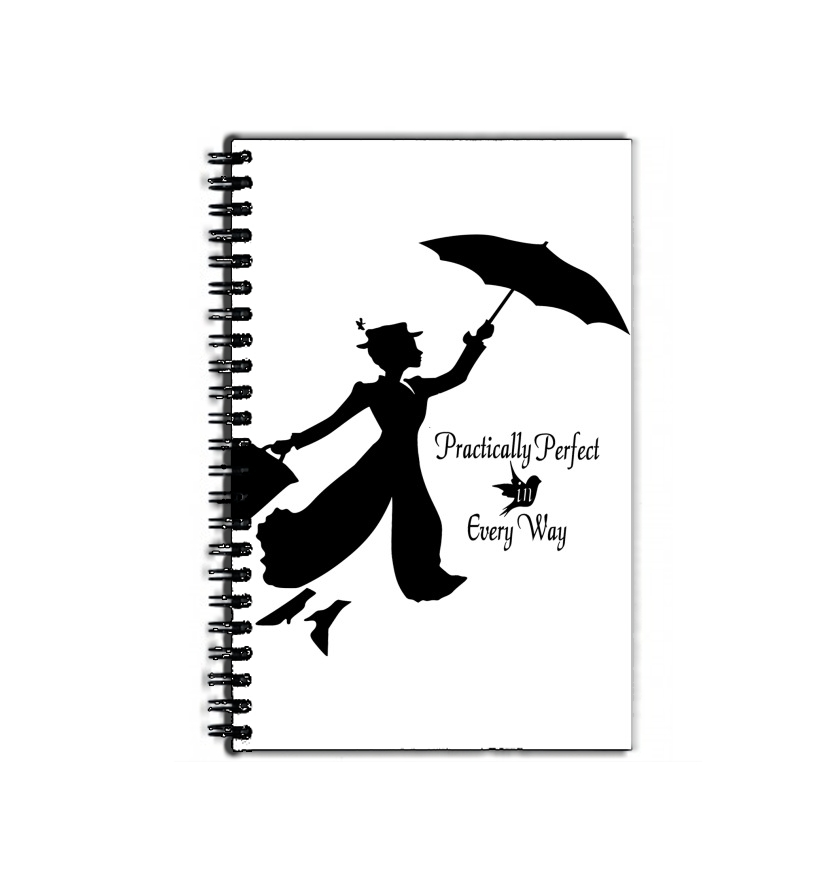 cahier de texte Mary Poppins Perfect in every way