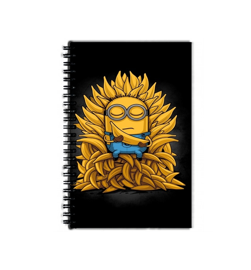 cahier de texte Minion Throne