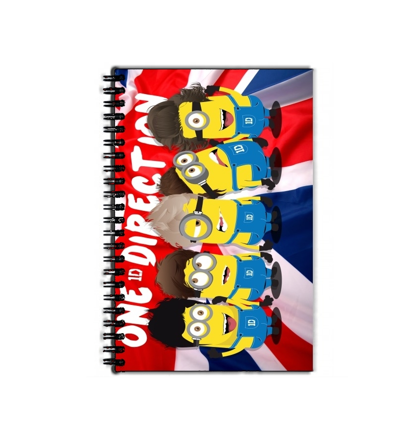 cahier de texte Minions mashup One Direction 1D