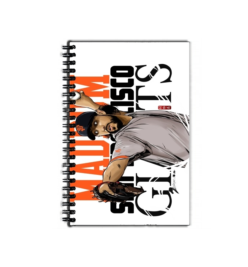 cahier de texte MLB Stars: Madison Bumgarner - Giants San Francisco