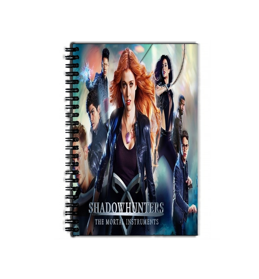 cahier de texte Mortal instruments Shadow hunters