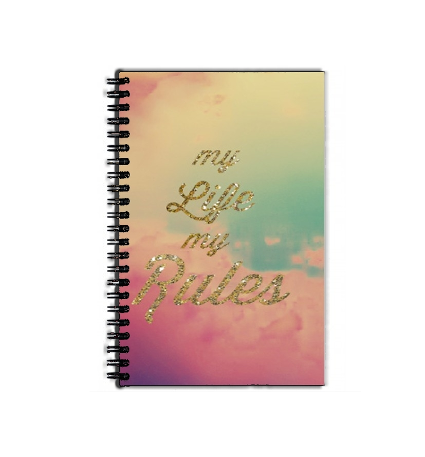 cahier de texte My life My rules