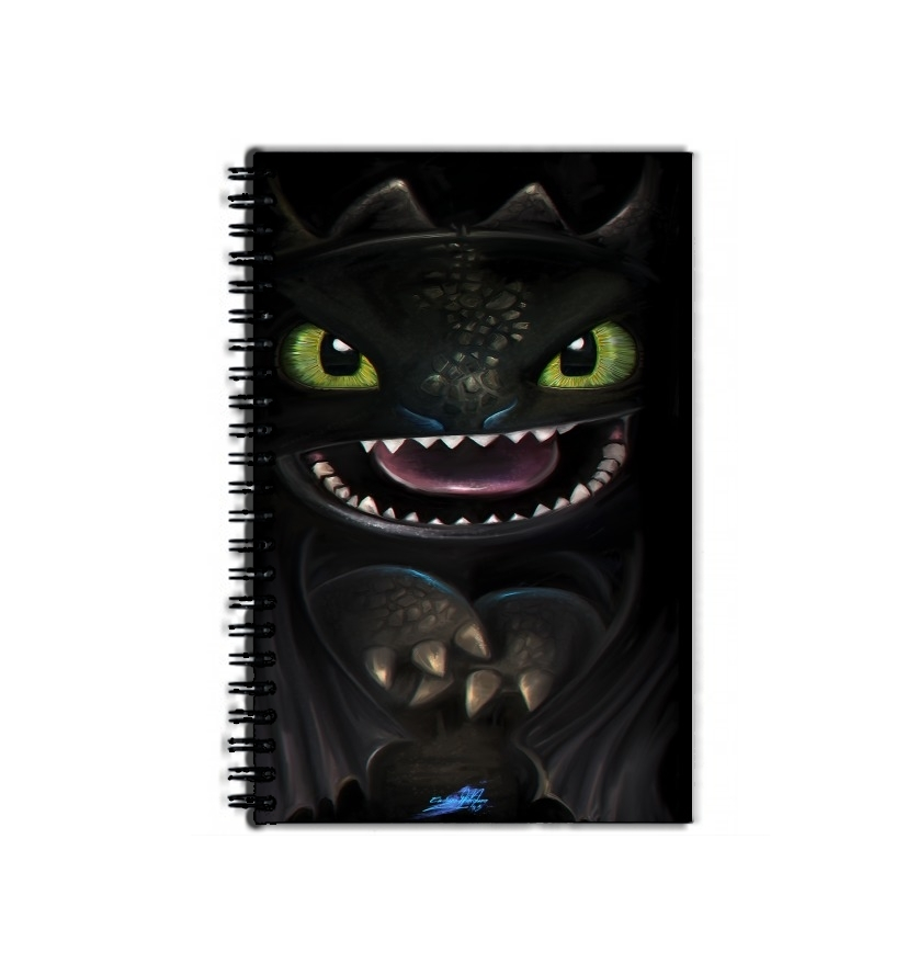 cahier de texte Night fury