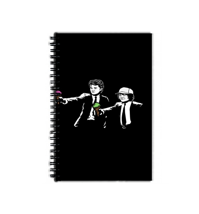 cahier de texte Pulp Fiction with Dustin and Steve
