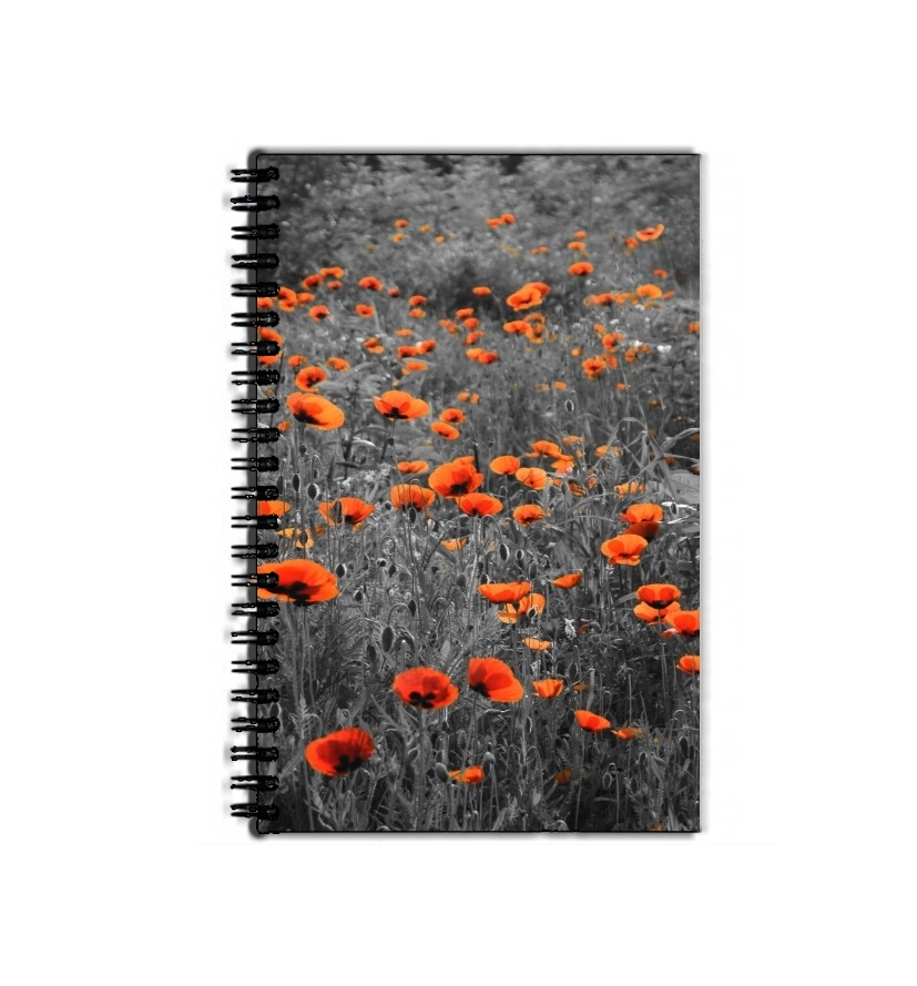 Cahier Red and Black Field