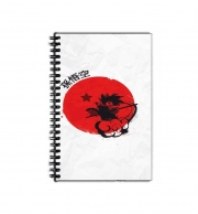 cahier de texte Red Sun Young Monkey