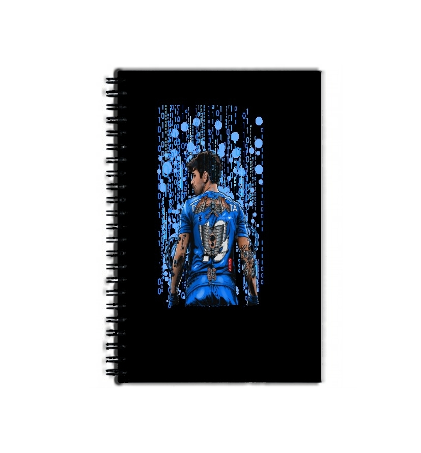 cahier de texte The Blue Beast