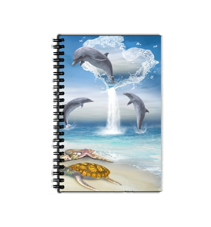 cahier de texte The Heart Of The Dolphins