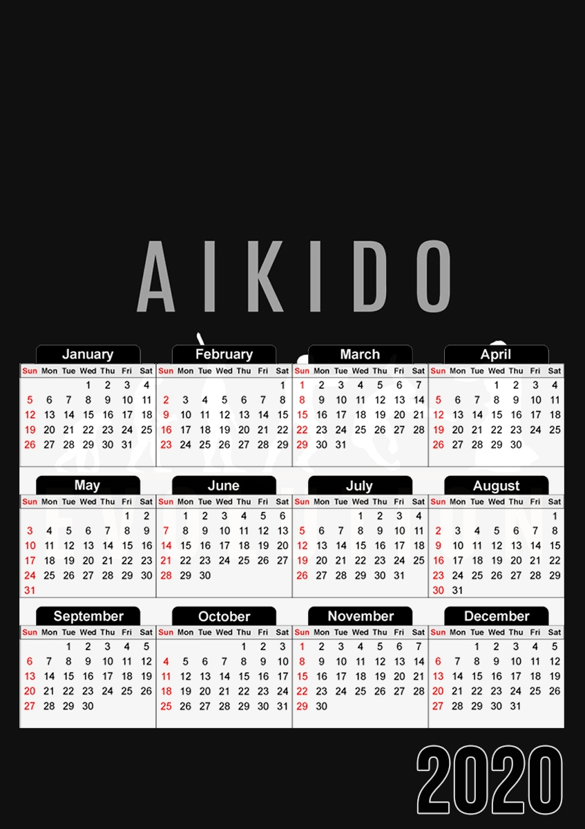 calendrier Aikido Evolution 2019 / 2020