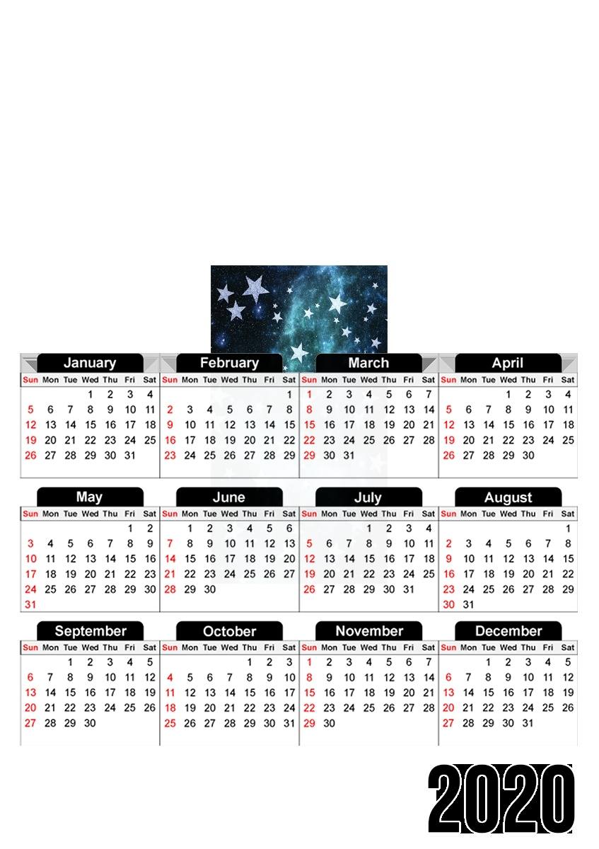 calendrier All Stars Mint 2020 / 2021