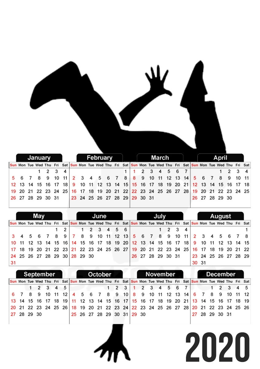 calendrier Break Dance 2020 / 2021