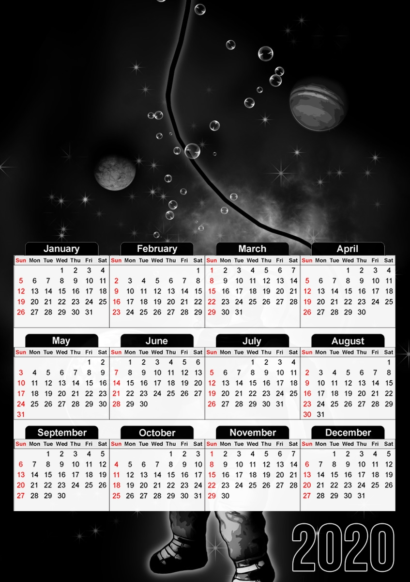 calendrier Deep Sea Space Diver 2020 / 2021