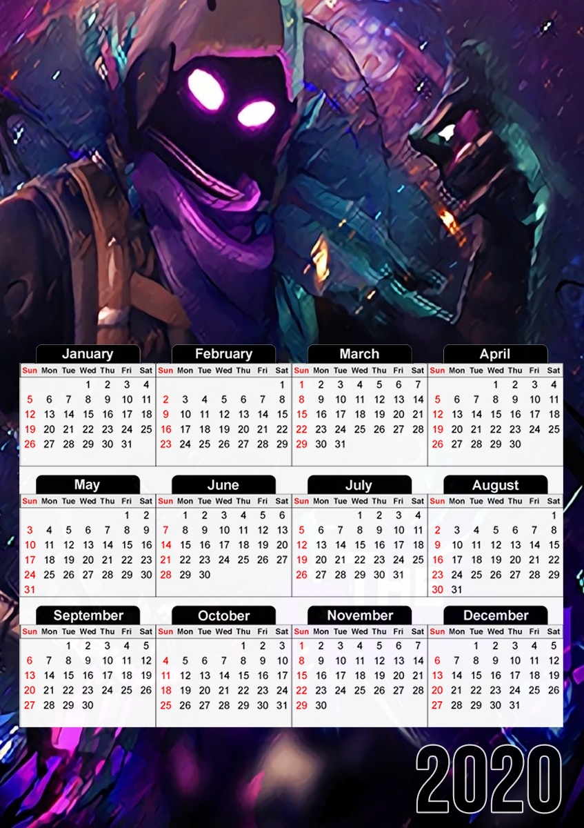 calendrier Fortnite The Raven 2019 / 2020