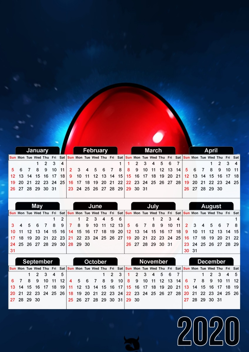 calendrier Infinity Gem Reality 2020 / 2021
