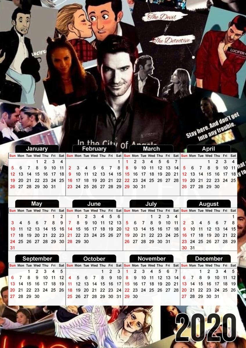 calendrier Lucifer Collage 2020 / 2021