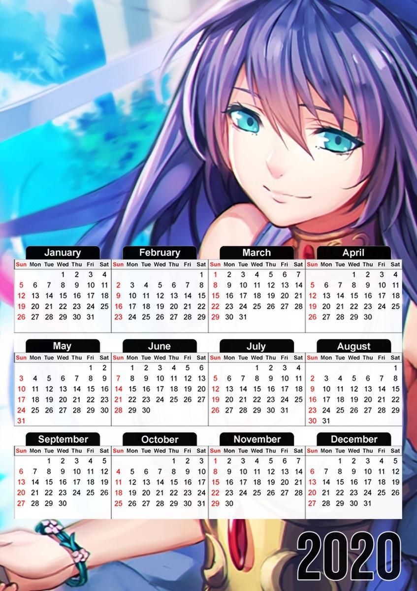 Calendrier Manga 2021 Calendrier Manga Girl Sexy goddess 30x43cm format A3
