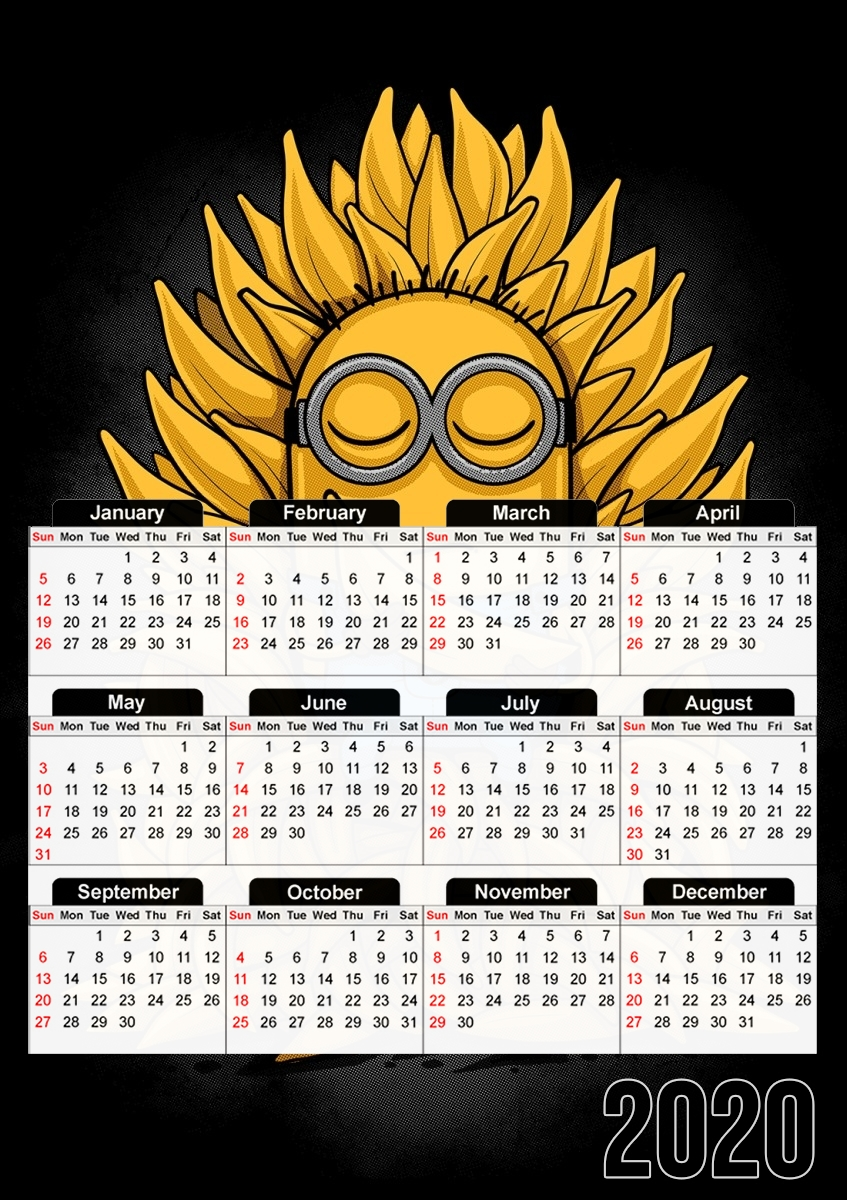 calendrier Minion Throne 2020 / 2021