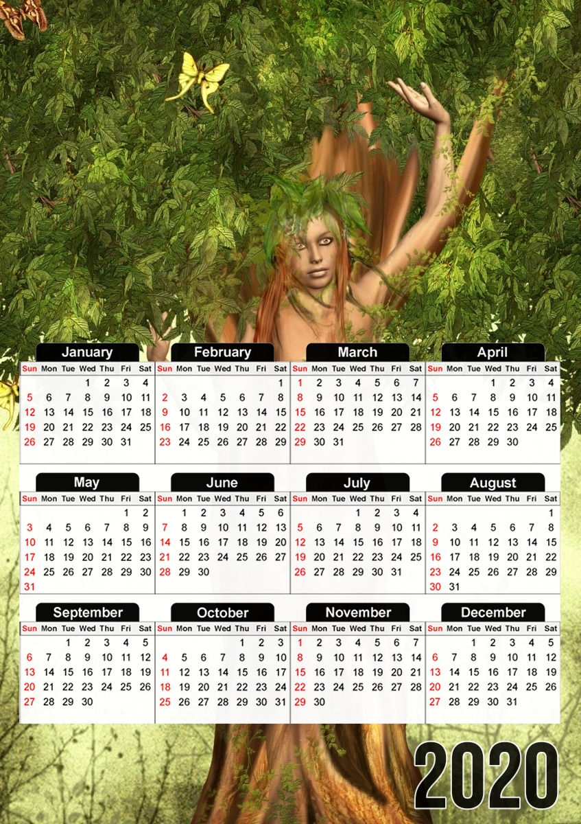 calendrier Mother Earth Mana 2019 / 2020