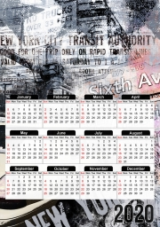 calendrier New York 2 2020 / 2021